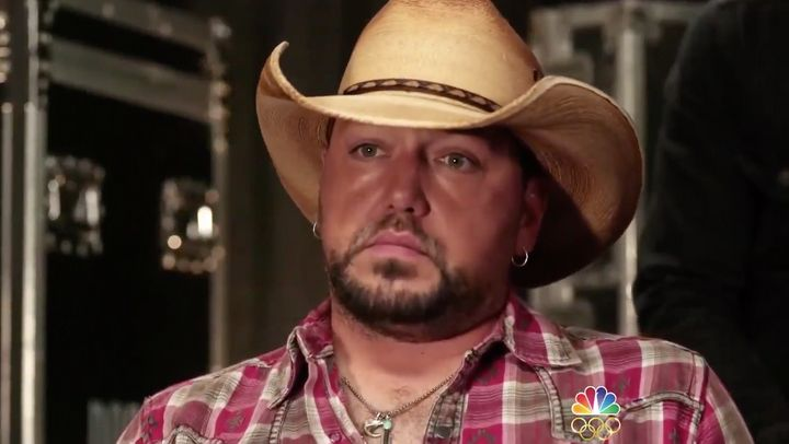 Country singer Jason Aldean has opened up about his experience performing during last month's mass shooting at a Las Vegas mu