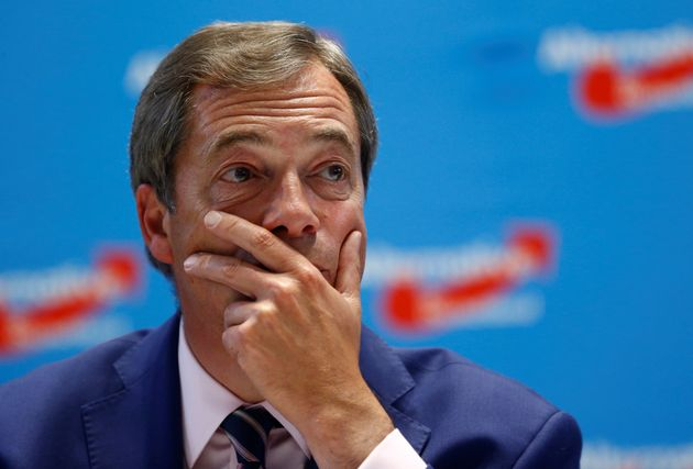 Nigel Farage has dismissed Hope not Hate's 'victory' over him as 'a waste of