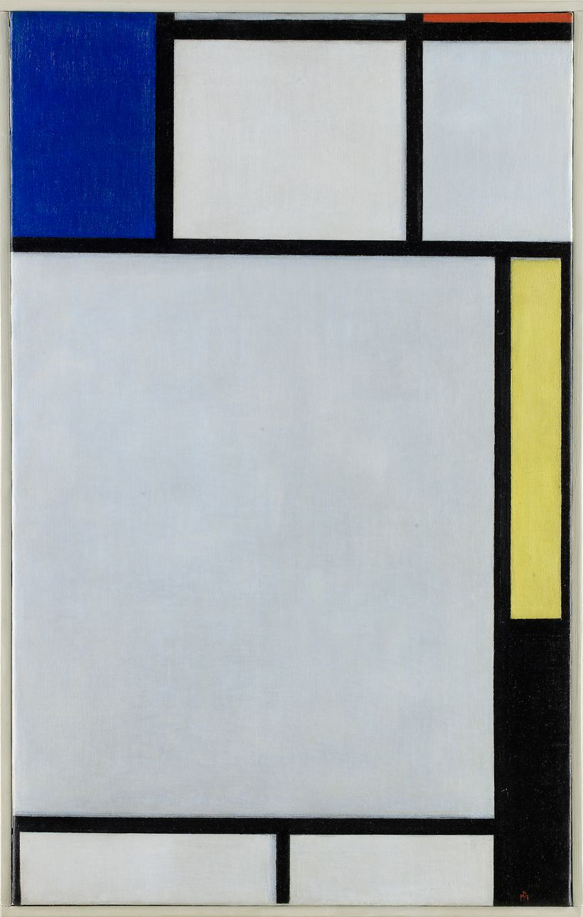 Piet Mondrian's <em>Composition with Blue, Red, Yellow and Black, </em>1922