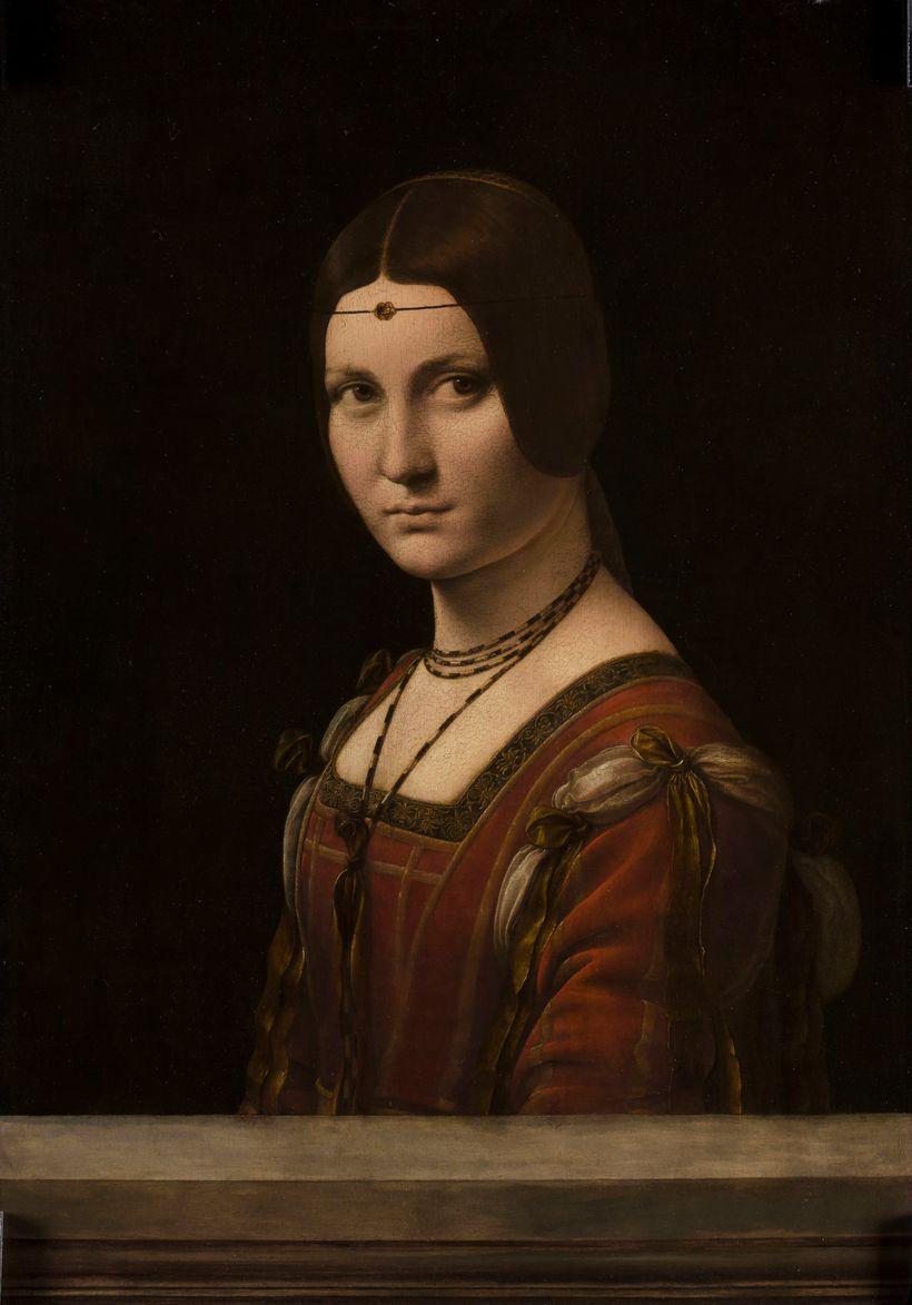 Leonardo da Vinci's  <em>La Belle Ferronnière</em>, 1495-1499