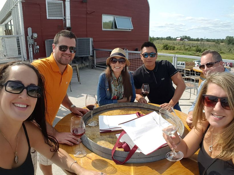 At Norman Hardie Winery