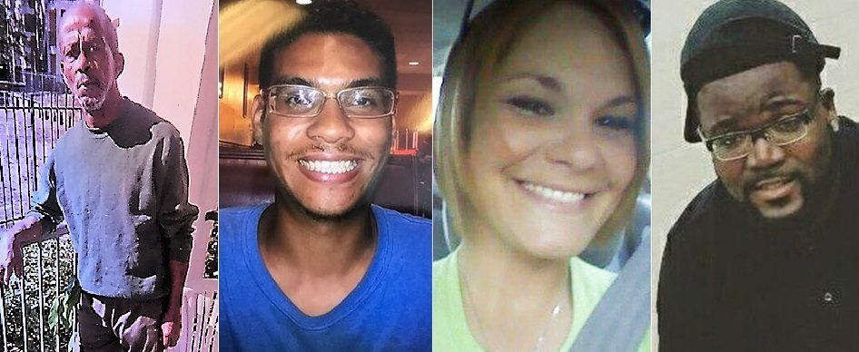 Authorities believe the same person is responsible for the shooting deaths of (left to right) Ronald Felton, Anthony Naiboa,
