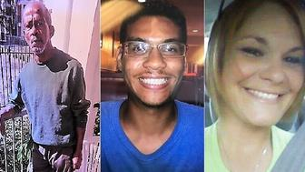 Authorities believe the same individual is responsible for the deaths of Ronald Felton Monica Caridad Hoffa Anthony Naiboa and Benjamin Edward Mitchell