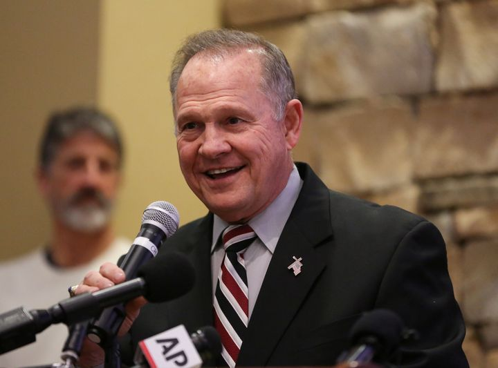 Roy Moore is the former chief justice of the Alabama Supreme Court.