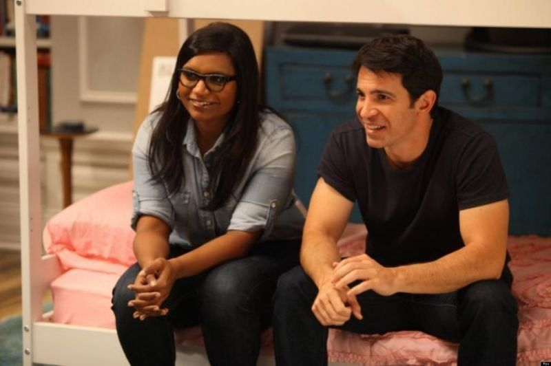 "Mindy Kaling and Chris Messina on ""The Mindy Project."""