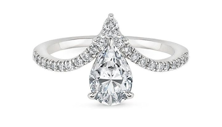 The Upside Down Engagement Ring Trend We Didn T See Coming