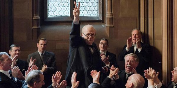 """On paper, """"Darkest Hour"""" is another staid period piece about wartime politics. In reality, it's an electricdetonator, m"""