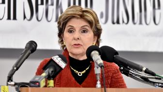WASHINGTON, DC - JANUARY 21:  Gloria Allred speaks during the Accusers of President Donald Trump Hold Press Conference With Attorney Gloria Allred At The Women's March In Washington on January 21, 2017 in Washington, DC.  (Photo by Mike Coppola/Getty Images)