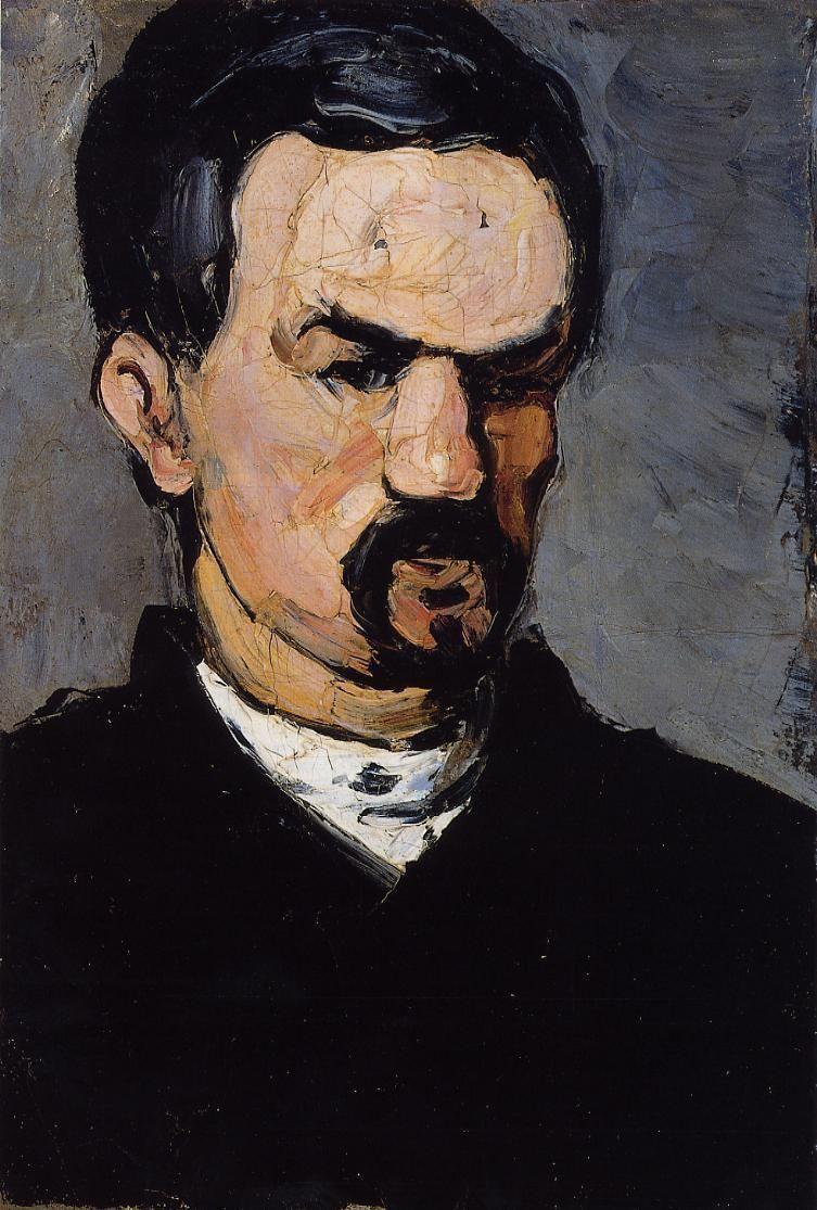 """""""Portrait of Uncle Dominique,"""" by Paul Cézanne (1866)."""
