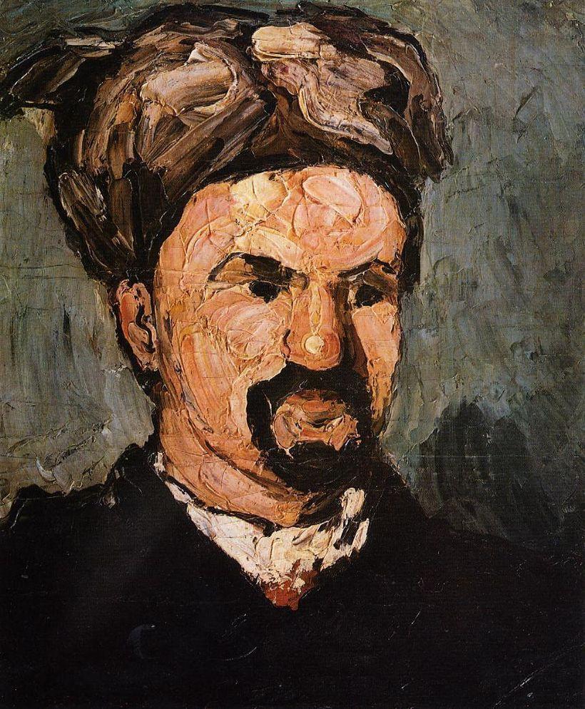 """Portrait of Uncle Dominique in a Turban,"" by Paul Cézanne (1866)."