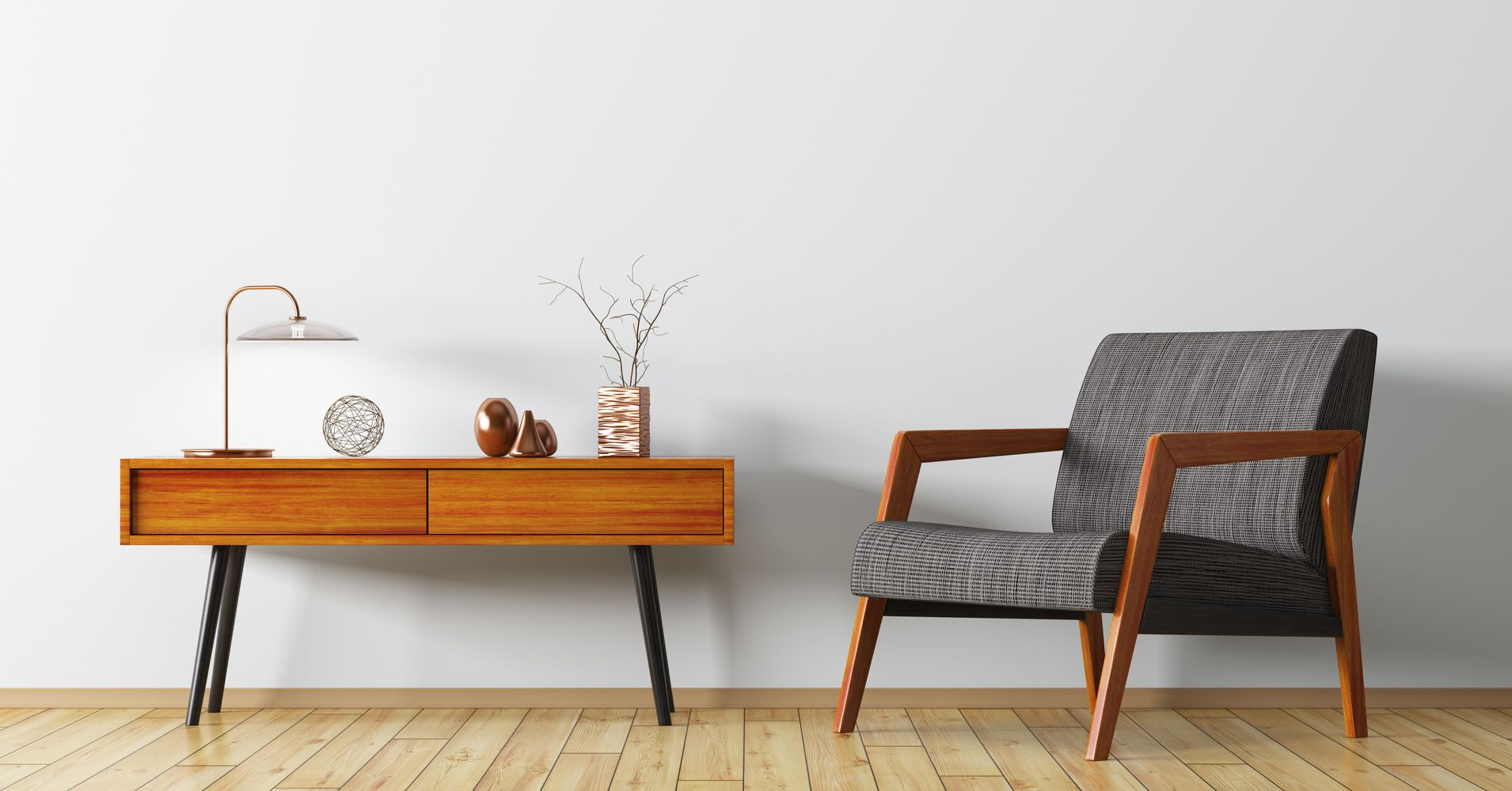 The best sites for affordable mid century modern furniture for Cheap furniture and decor
