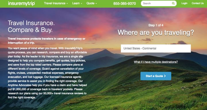 Websites like Insuremytrip.com allow travelers to compare trip insurance plansbeyond those offered byairlines.