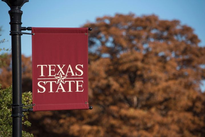 The transfer student lived on the Texas State University campus in San Marcos.