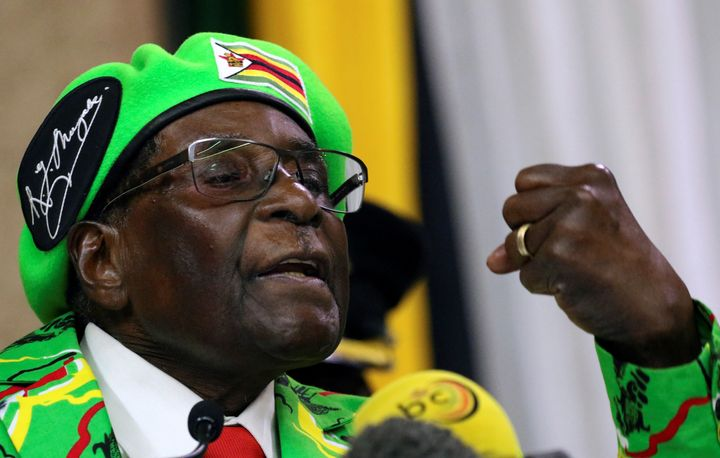 Zimbabwe's military seized power on Wednesday, but gave assurances that President Robert Mugabe and his family were &ld