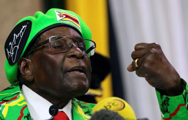 President Robert Mugabe hasn't been seen since the