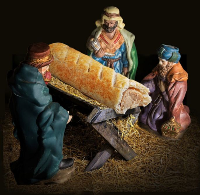 Greggs Apologises For Replacing Baby Jesus With Sausage Roll In Christmas Advent Calendar After Critics...