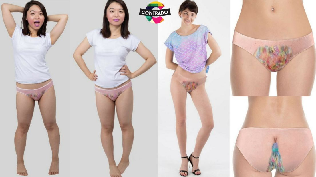 These Hairy Knickers Take The Unicorn Trend A Step Too