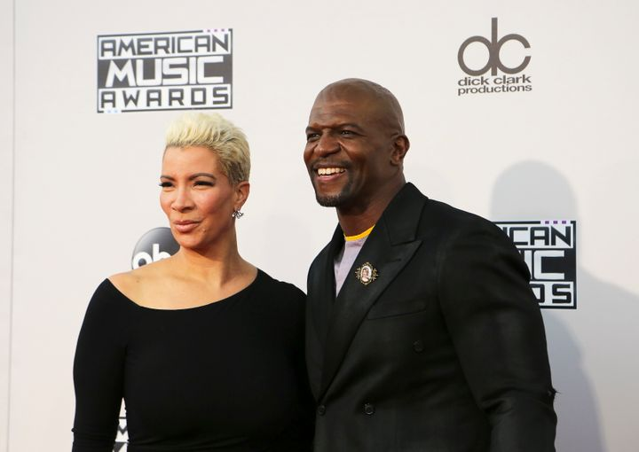 """Brooklyn Nine-Nine"" actor Terry Crews credited his wife with helping him control himself in the moments after an alleged sex"