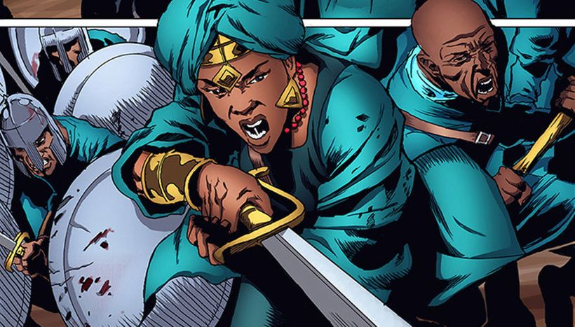 Malika Warrior Queen is live on Kickstarter