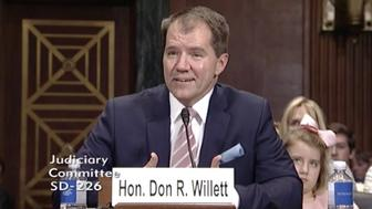 Don Willett one of President Donald Trumps nominees to the US Circuit Judge For The Fifth Circuit
