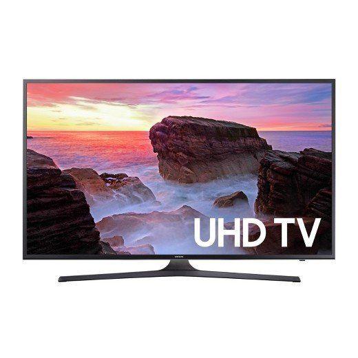 """Full price: $1,300<br><a href=""""https://www.target.com/p/samsung-65-flat-4k-uhd-tv-black-un65mu6300/-/A-52336772"""" target=""""_bla"""