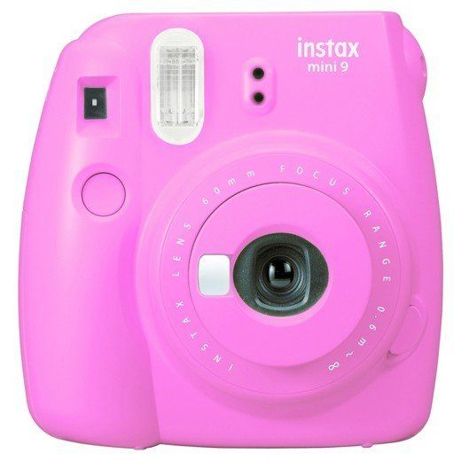 "Includes camera and 10-count rainbow instant film.<br>Full price: $85<br><a href=""https://www.target.com/s?searchTerm=Fujifil"