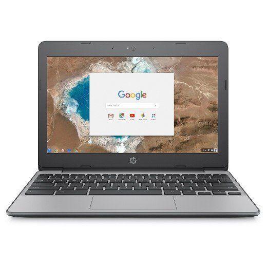 "Full price: $300<br><a href=""https://www.target.com/s?searchTerm=HP+Chromebook&clkid=40ecd019N8ea6360d5a5d75a152c3b9aa&am"
