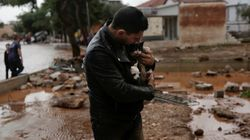 Photos Show 'Biblical' Flooding In Greece Following Severe