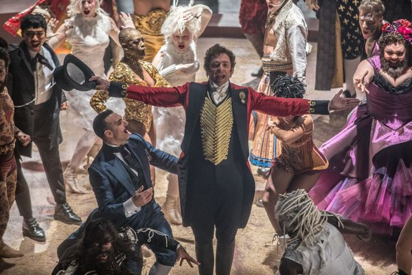 """The Greatest Showman"" hasn't screened for press yet, but trailers indicate it will be a doozy. Fox is also desperately pushi"