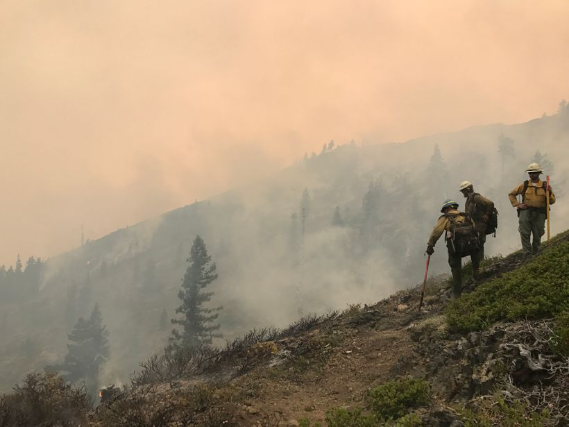 "Members of <a rel=""nofollow"" href=""http://sccorps.org/"" target=""_blank"">Southwest Conservation Corps</a>' Veterans Fire Corps"