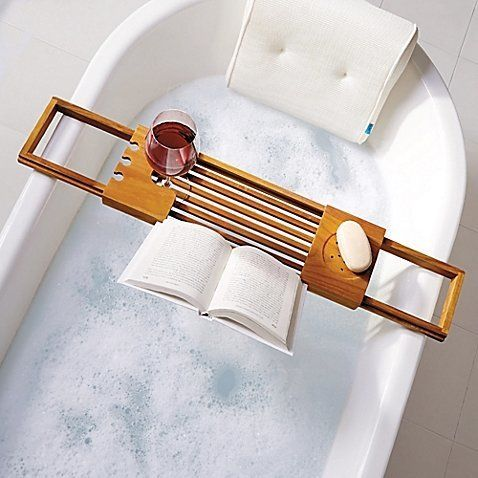 "<i>Buy it from <a href=""https://www.bedbathandbeyond.com/store/product/teak-bathtub-caddy/1042031918?categoryId=13447"" target"