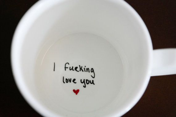 I F**cking Love You  Coffee Mug & 23 Unique Gifts For Your Wife That Donu0027t Totally Suck | HuffPost Life