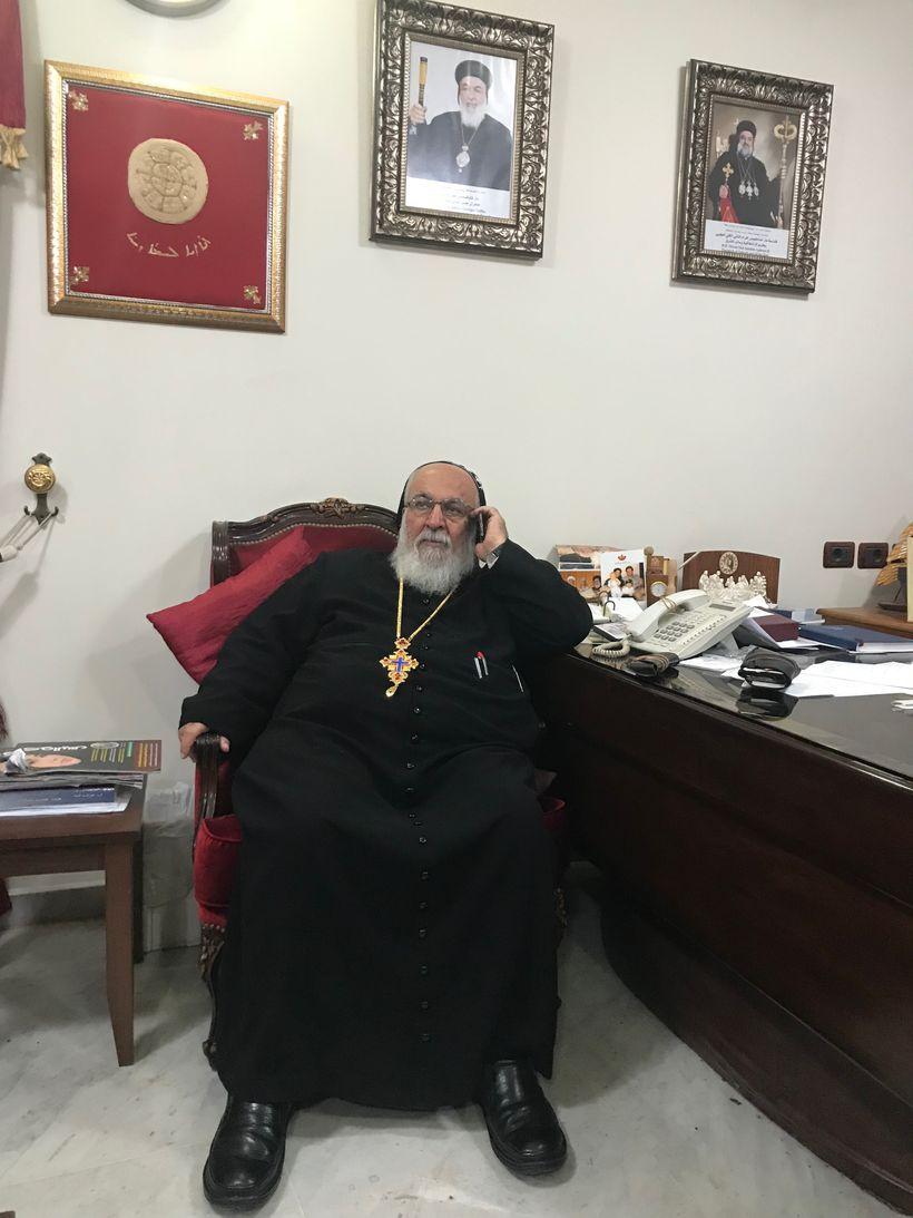 Syriac Orthodox Archbishop Mor Theophilus George Saliba