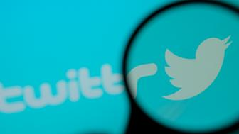 A Twitter logo is seen on a computer screen in this photo illustration on October 30, 2017. (Photo by Jaap Arriens/NurPhoto via Getty Images)