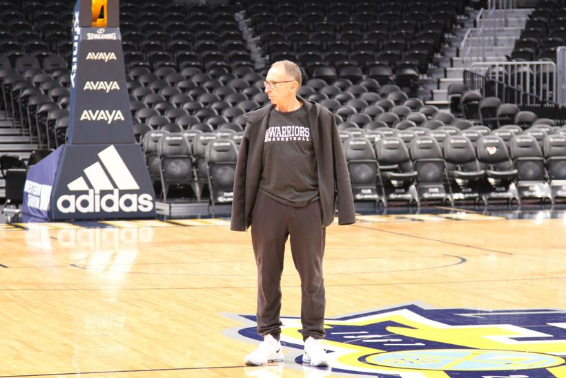 Golden State Warriors Assistant Head Coach and defensive guru Ron Adams lingered near center court and surveyed the landscape
