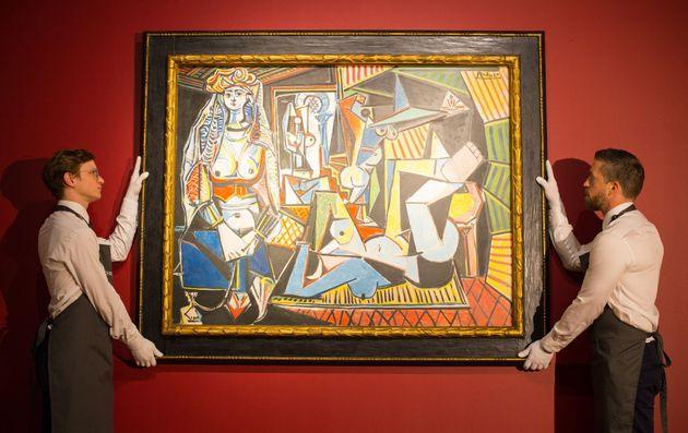 Les femmes d'Alger held the previous auction