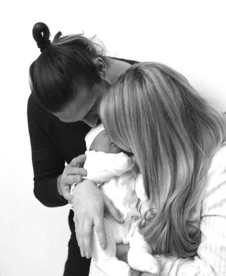 Billi Mucklow And Andy Carroll Share Newborn Son's Unusual