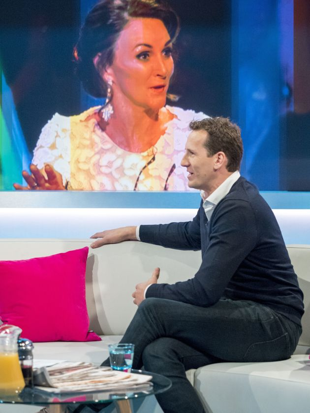 Brendan Cole has attempted to downplay his feud with Shirley
