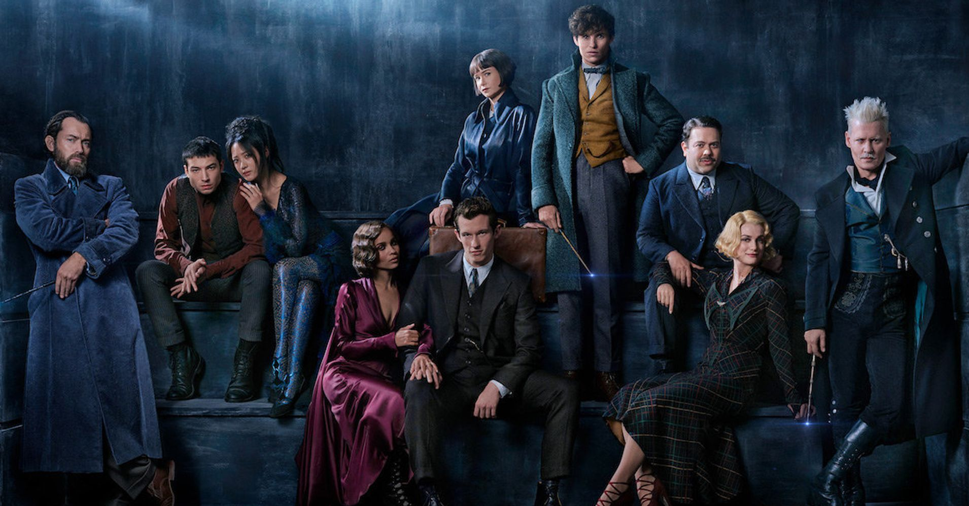 'Fantastic Beasts' Sequel First Look Reveals Jude Law As Young Dumbledore