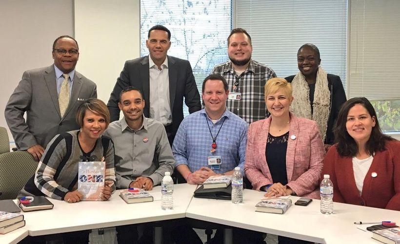 Meeting with Walgreens Pride Group Members & Senior Executives at Walgreens Diversity & Inclusion Team.