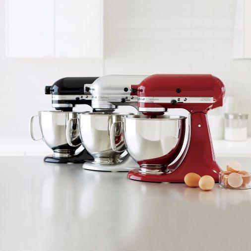 """Regularly: $449<br><a href=""""https://www.jcpenney.com/p/kitchenaid-artisan-series-5-quart-tilt-head-stand-mixer-ksm150ps/0903a"""