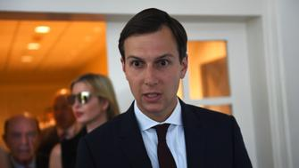 WASHINGTON, June 27, 2017 -- Senior advisor to the President Jared Kushner arrives for the joint statements of Indian Prime Minister Narendra Modi and U.S. President Donald Trump (both not in the picture) at the White House in Washington D.C., the United States, June 26, 2017. U.S. President Donald Trump held talks with visiting Indian Prime Minister Narendra Modi on Monday, hailing strong bilateral ties and pledging to enhance cooperation in areas such as trade and anti-terrorism. (Xinhua/Yin Bogu via Getty Images)