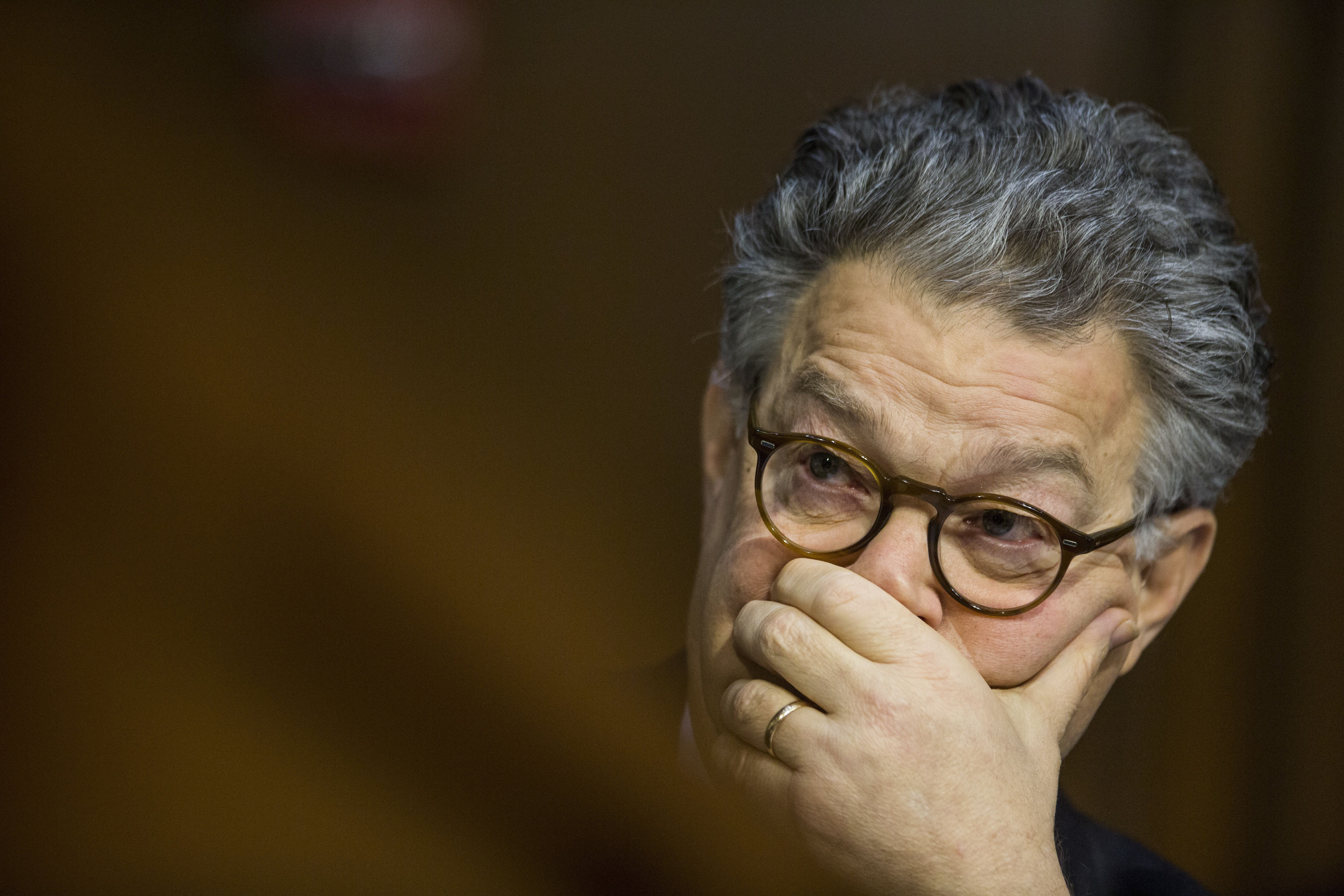 Multiple women accused Sen. Al Franken (D-Minn.) of touching them inappropriately and without their