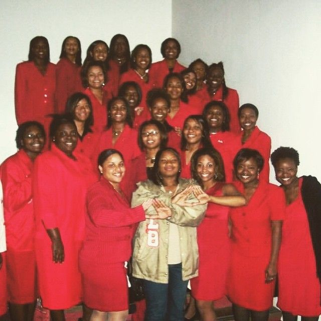 Gamma Chi Chapter of Delta Sigma Theta Sorority, Inc - Spring 2004