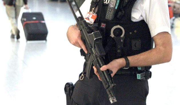 Cliff edge: Britain has been accused of using security, one of its stronger suits inBrexit