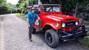 <em>Isla de Ometepe, Nicaragua: updating guidebooks, field-testing travel gear, and sweating.</em>