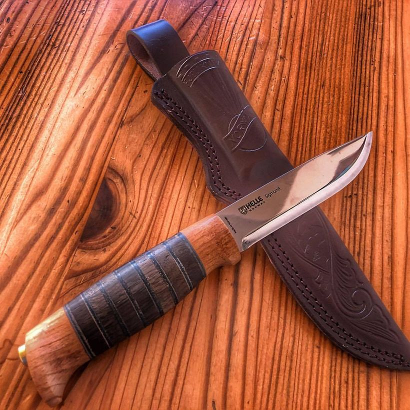 Helle knives, handcrafted in Finland.