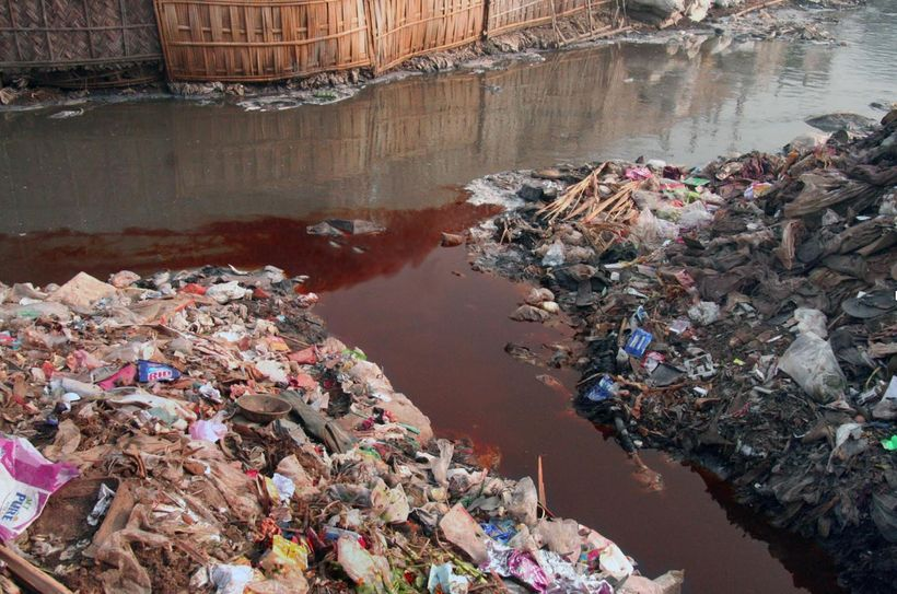 RiverBlue looks at Hazaribagh Tannery run-off in Dhaka, Bangladesh.