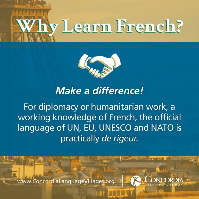 Image result for why learn french language