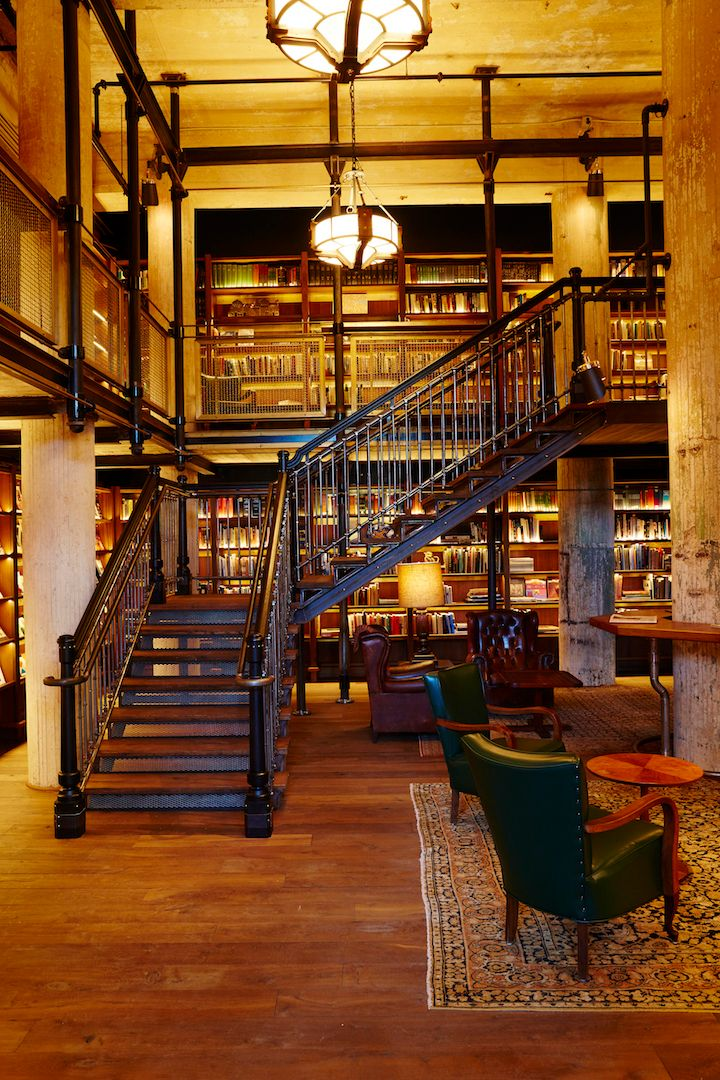 <p>One of the biggest private collections now lives inside Hotel Emma's library.</p>